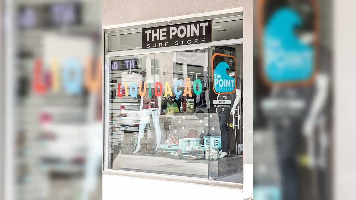 Loja the point suf store